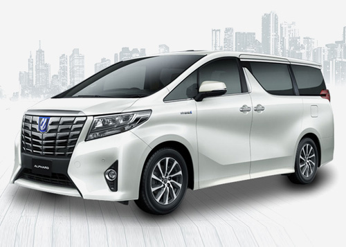 car rental new toyota alphard mpv kuching